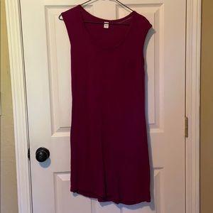 Old Navy Sleeveless Jersey Dress